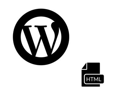 Symbole für WordPress und HTML-Dokumente